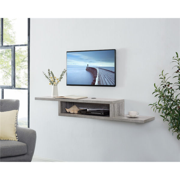 """Naomi Home Shelby Sliding Barn Door Tv Stand For 50"""" Tv Inside Shelby Corner Tv Stands (View 4 of 20)"""