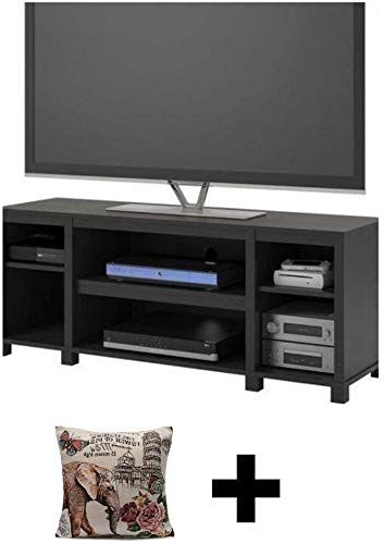 New Mainstay Parsons Cubby Tv Stand Holds Up To 50 Tv Throughout Mainstays Parsons Tv Stands With Multiple Finishes (View 5 of 20)