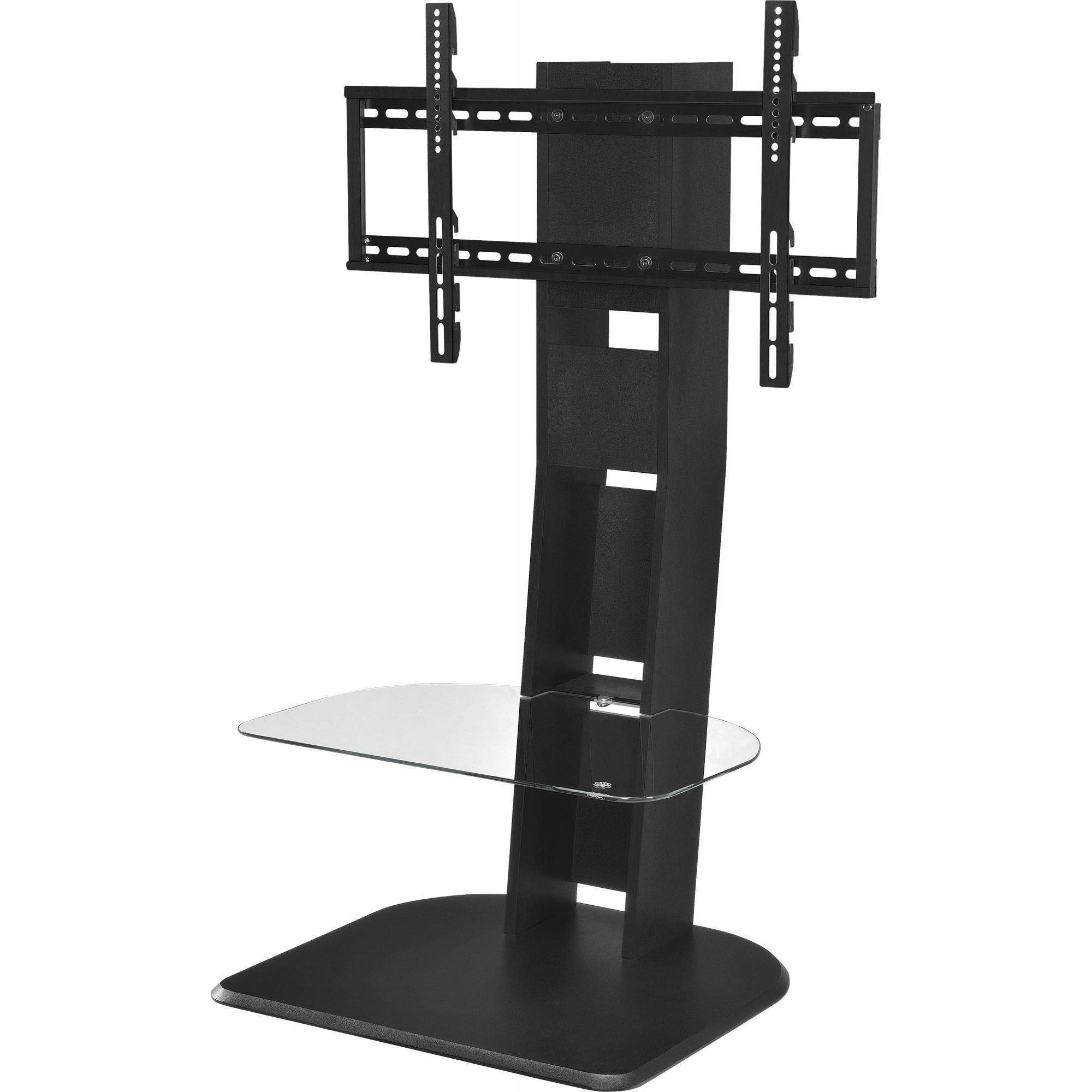 New Top Quality Tv Stand With Mount For Tvs Up To 50 Throughout Glass Shelf With Tv Stands (View 12 of 20)