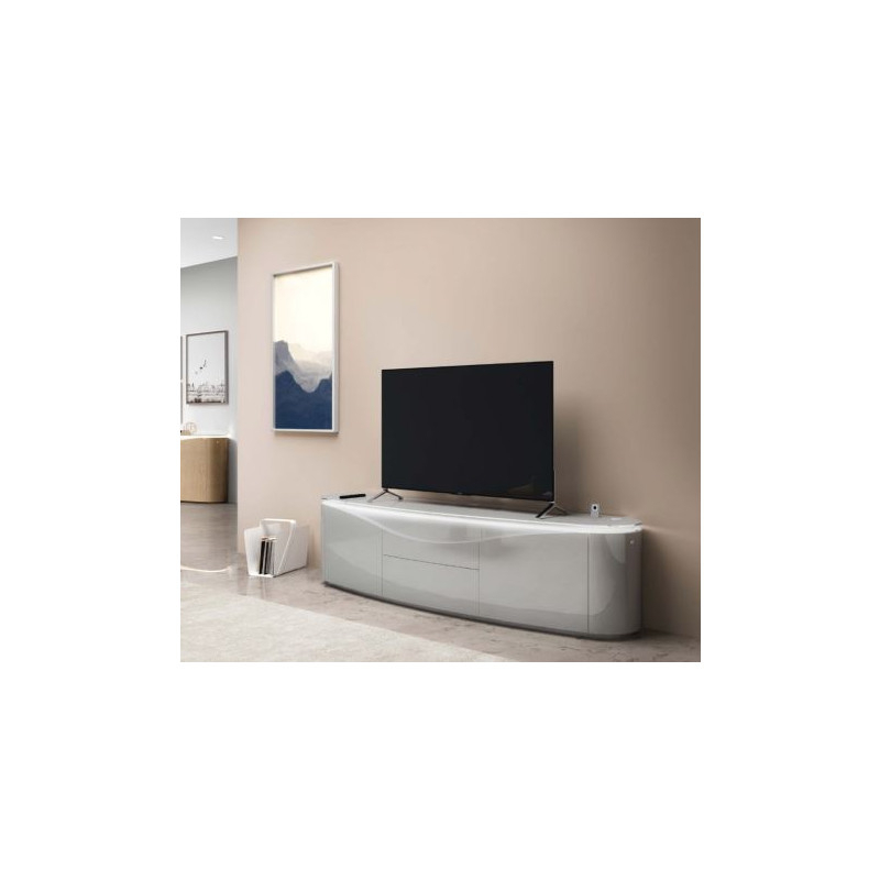 Nisa – Luxury Bespoke Tv Unit With Optional Lighting – Tv For Casablanca Tv Stands (View 14 of 20)