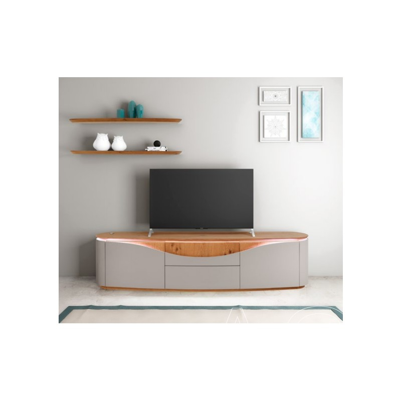 Nisa – Luxury Bespoke Tv Unit With Optional Lighting – Tv With Casablanca Tv Stands (View 3 of 20)
