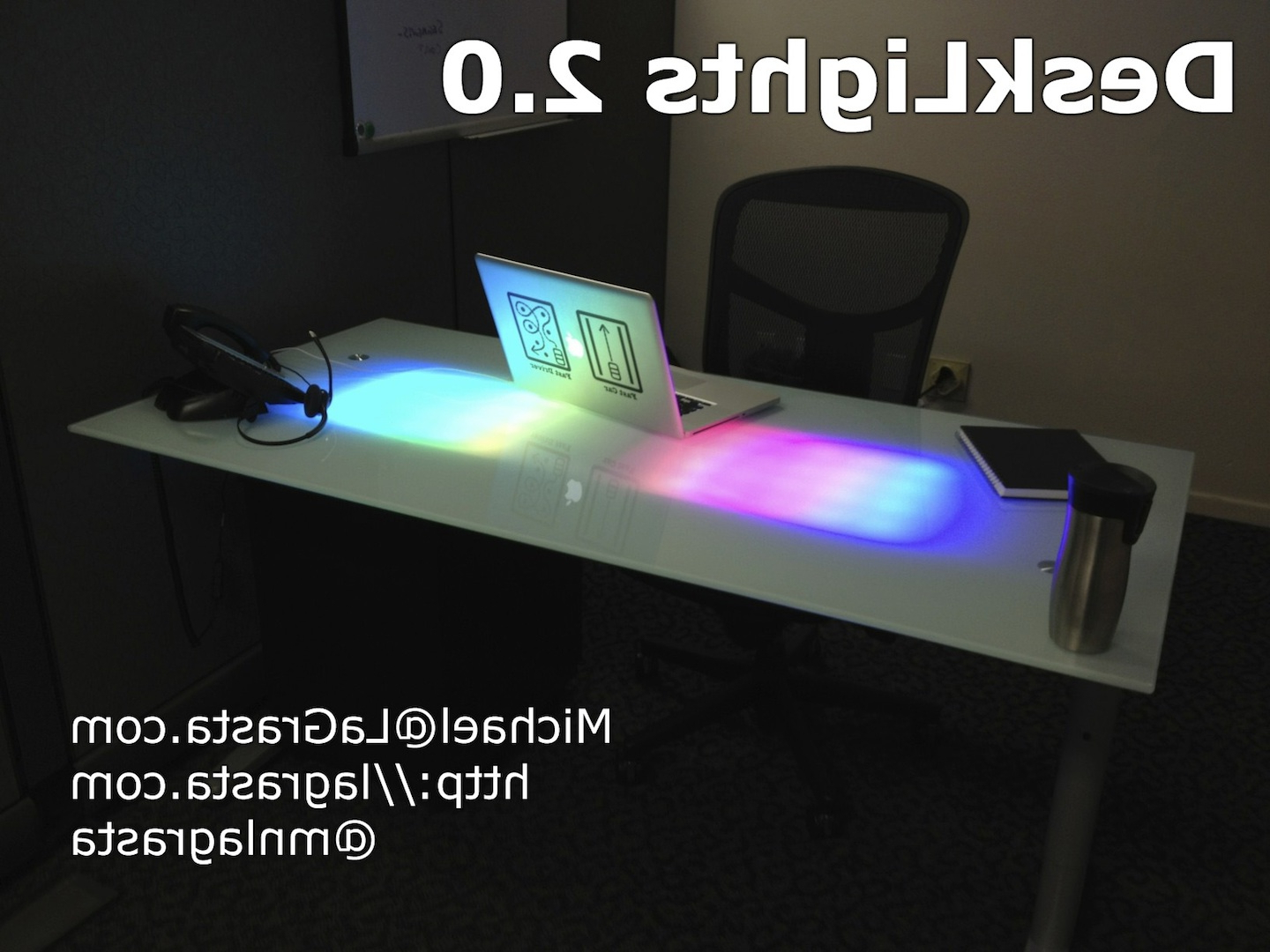 Notification Desk ~ Get Home Decorating For 57'' Led Tv Stands With Rgb Led Light And Glass Shelves (View 18 of 20)