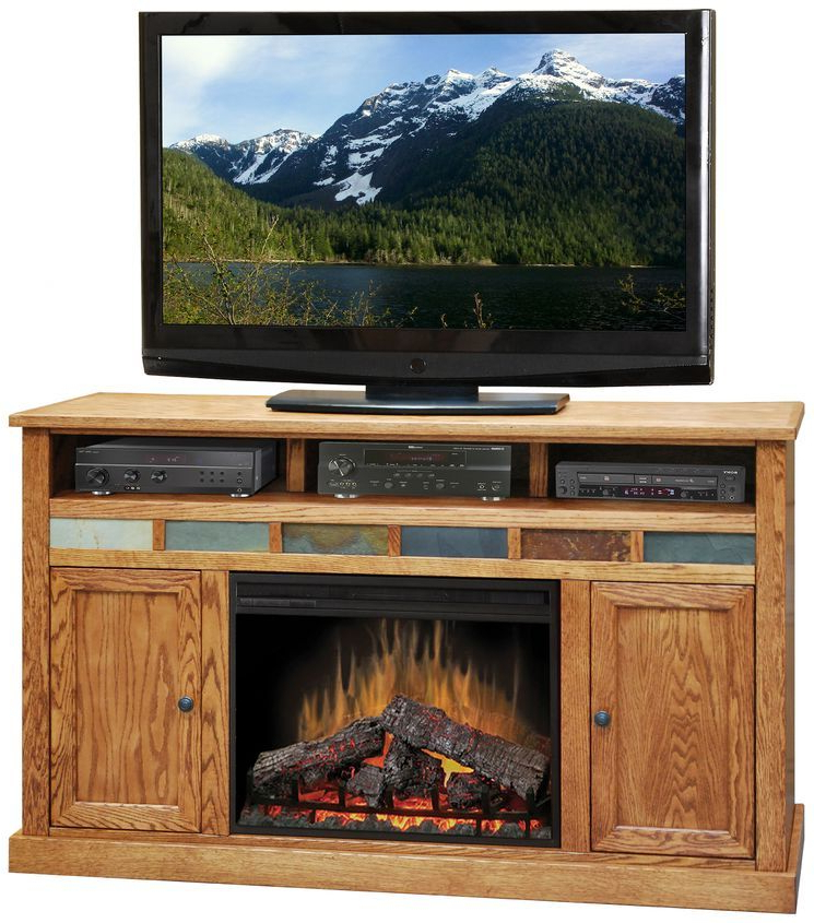 """Oak Creek Tv Stand For Tvs Up To 70"""" With Fireplace Intended For Chicago Tv Stands For Tvs Up To 70"""" With Fireplace Included (View 18 of 20)"""