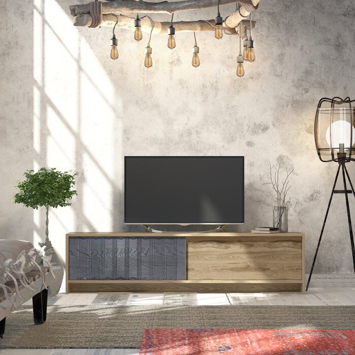 """Oboyle Tv Stand For Tvs Up To 78""""   Tv Stand, Tv, Mdf Doors Inside Tenley Tv Stands For Tvs Up To 78"""" (View 4 of 20)"""