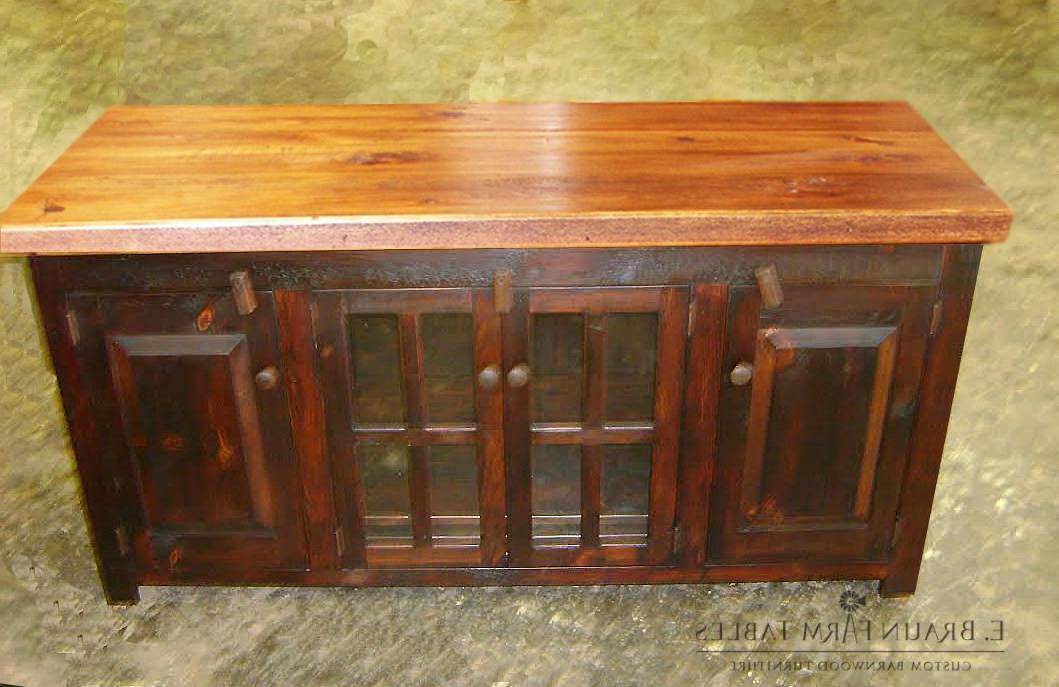 One Of Nearly Unlimited Variations Of Tv Stands We Can With Lancaster Small Tv Stands (View 17 of 20)