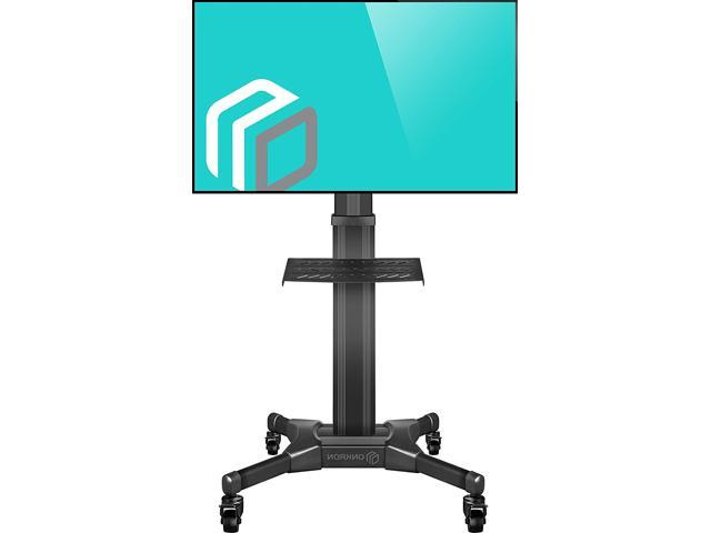 Onkron Mobile Tv Stand With Mount Rolling Tv Cart For 32 For Easyfashion Adjustable Rolling Tv Stands For Flat Panel Tvs (View 11 of 20)