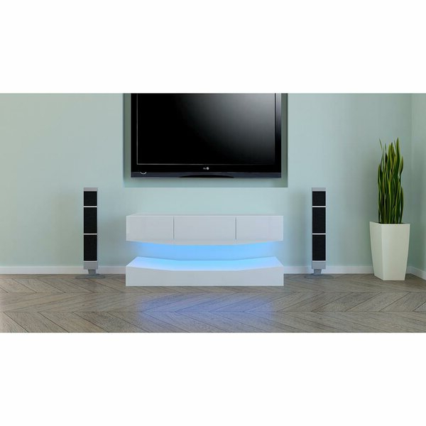 """Orren Ellis Caelynn Floating Tv Stand For Tvs Up To 50 Within Aaliyah Floating Tv Stands For Tvs Up To 50"""" (View 7 of 20)"""