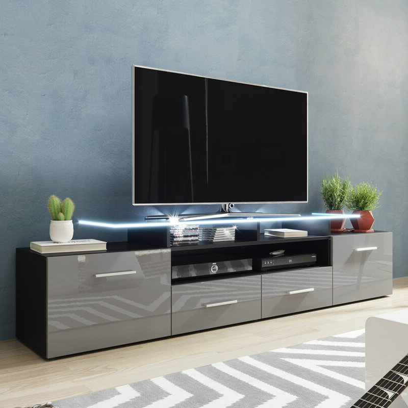 """Orren Ellis Casares Tv Stand For Tvs Up To 70"""" & Reviews Regarding Lorraine Tv Stands For Tvs Up To 70"""" (View 17 of 20)"""