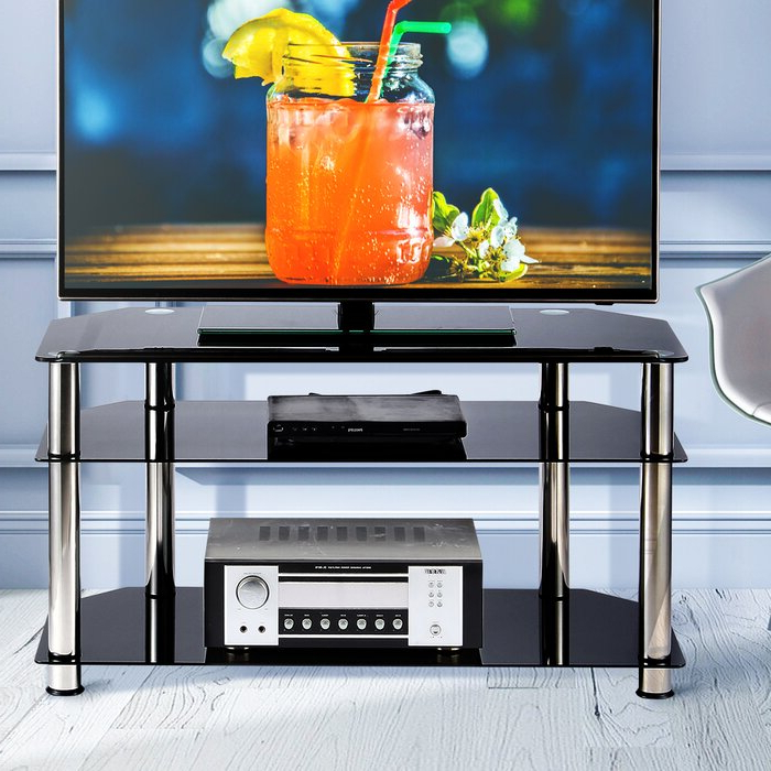 """Orren Ellis Luder Tv Stand For Tvs Up To 43"""" & Reviews With Regard To Orrville Tv Stands For Tvs Up To 43"""" (View 13 of 20)"""