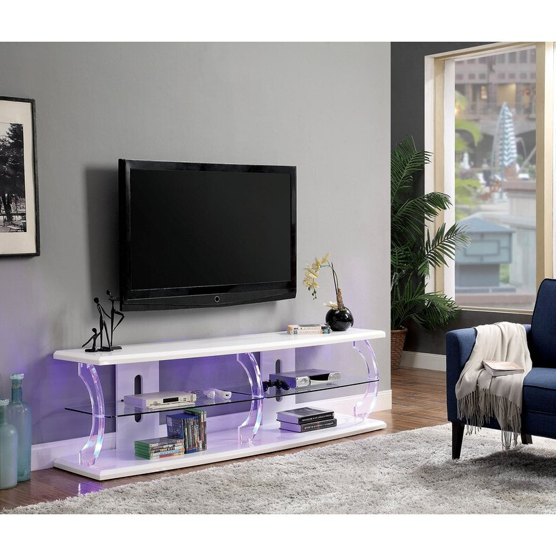"""Orren Ellis Mikhail Tv Stand For Tvs Up To 85"""" 