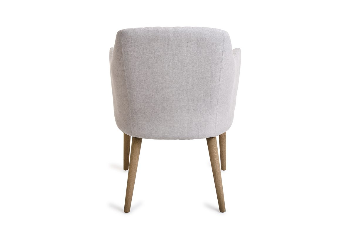 Orson Chair Cream Linen – Michael Murphy Home Furnishing Throughout Orsen Tv Stands (View 9 of 20)