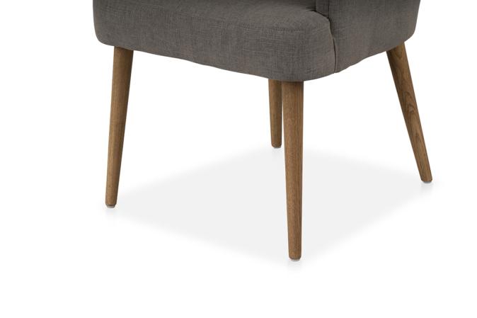 Orson Chair Grey Linen – Michael Murphy Home Furnishing Inside Orsen Tv Stands (View 15 of 20)
