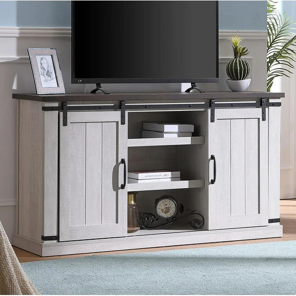 Overstock: Online Shopping – Bedding, Furniture Throughout Woven Paths Franklin Grooved Two Door Tv Stands (View 15 of 20)