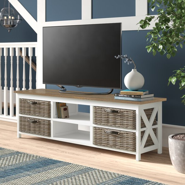 """Owston Solid Wood Tv Stand For Tvs Up To 65 Inches Intended For Solid Wood Tv Stands For Tvs Up To 65"""" (View 14 of 20)"""