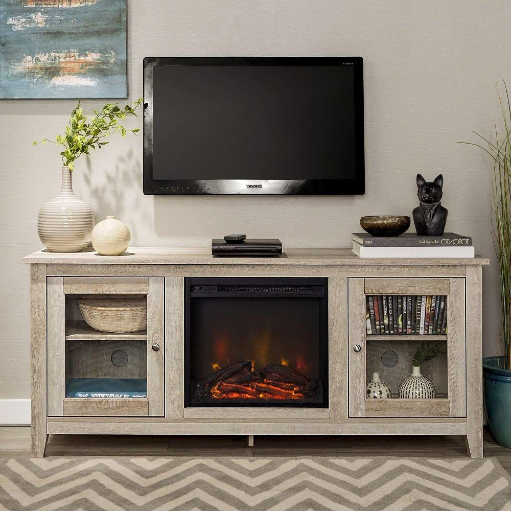 Pin On Best Electric Fireplace Tv Stand For Oliver Wide Tv Stands (View 17 of 20)