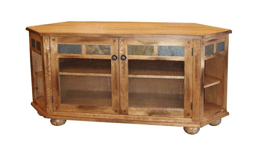 Pin On Corner Tv Stands Regarding Sidmouth Oak Corner Tv Stands (View 3 of 20)