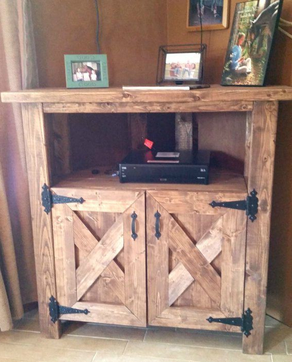 Pin On Tv Cabinet Inside Avalene Rustic Farmhouse Corner Tv Stands (View 3 of 20)