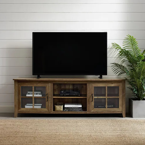 Pinamy Sheridan Design On Basement   Tv Stand With Inside Tasi Traditional Windowpane Corner Tv Stands (View 2 of 20)