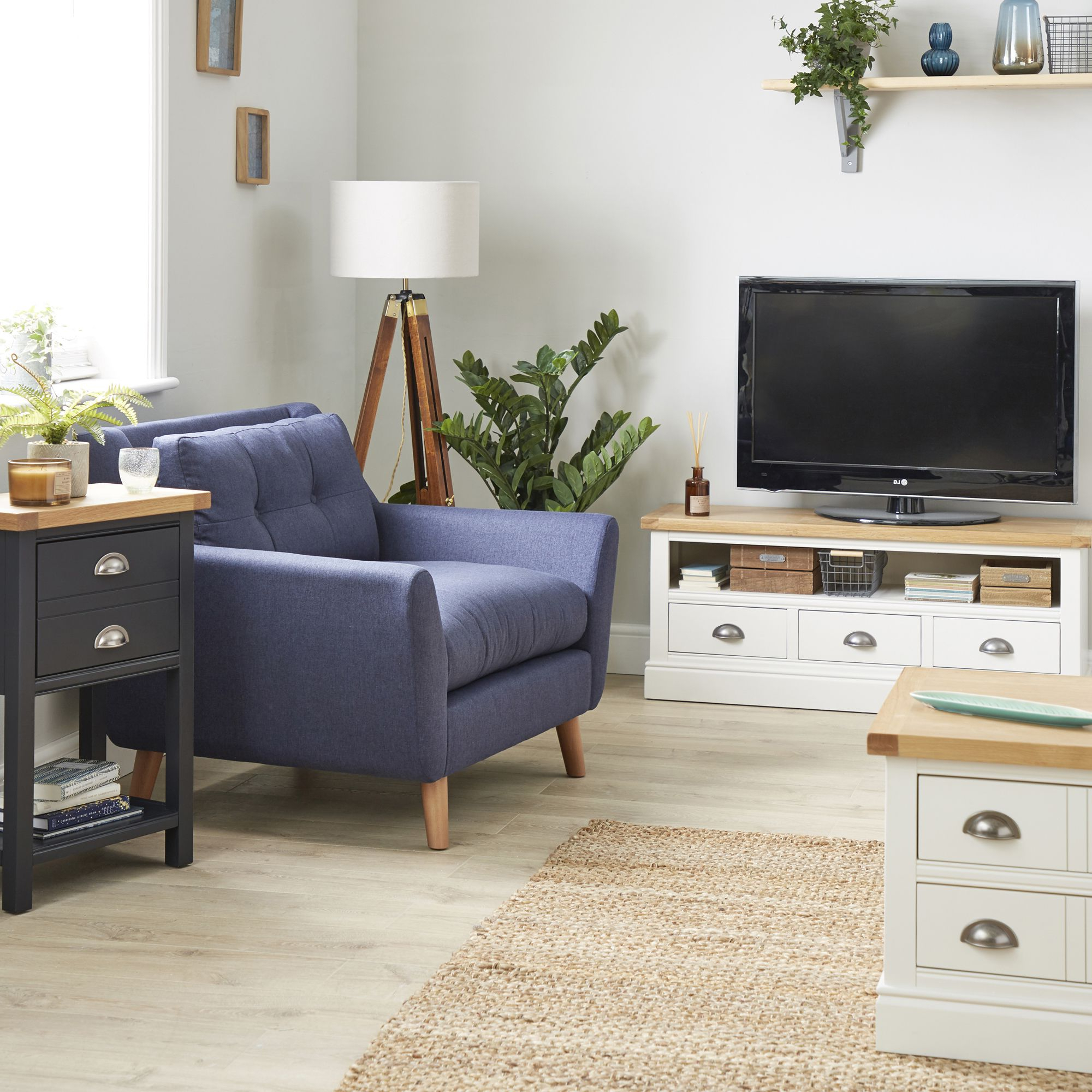 Pindunelm On Living Room │dunelm | Living Room Pertaining To Compton Ivory Large Tv Stands (View 8 of 20)