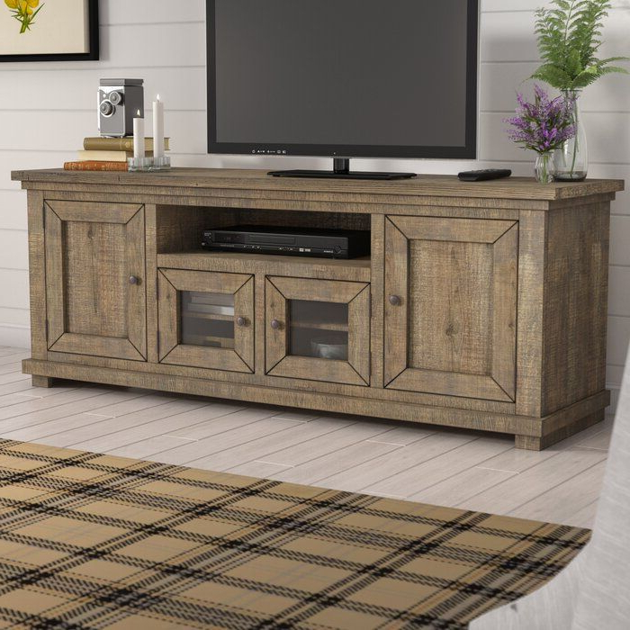 """Pineland Tv Stand For Tvs Up To 78""""   Livingroom Layout Intended For Grandstaff Tv Stands For Tvs Up To 78"""" (View 14 of 20)"""