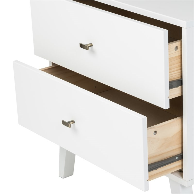 """Prepac Milo Mid Century Modern 6 Drawer Double Dresser In Intended For Prepac Milo Mid Century Modern 56"""" Tv Console Stands (View 14 of 20)"""