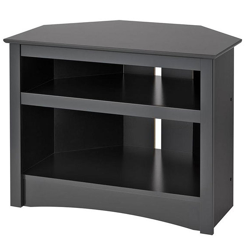 Prepac Sonoma Collection Corner Tv Stand For Screens Up To In Priya Corner Tv Stands (View 10 of 20)