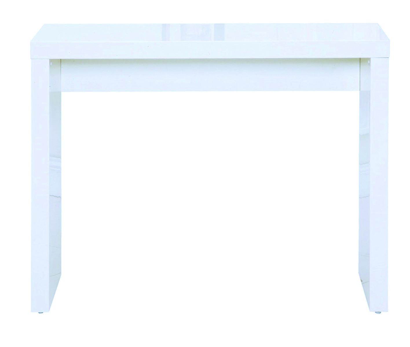 Puro Console Table White – Hall Furniture | Lpd Furniture Regarding Puro White Tv Stands (View 6 of 20)