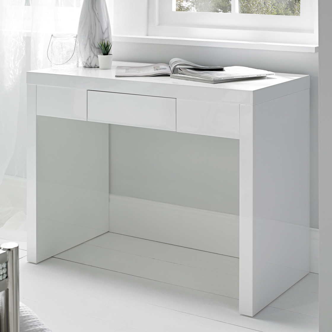 Puro Dressing Table White – Dressing Tables – Bedroom Throughout Puro White Tv Stands (View 9 of 20)