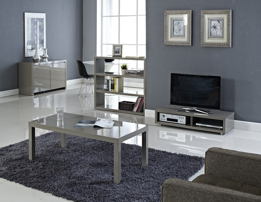 Puro High Gloss Living Room Furniture | Living Room Design Intended For Puro White Tv Stands (View 15 of 20)