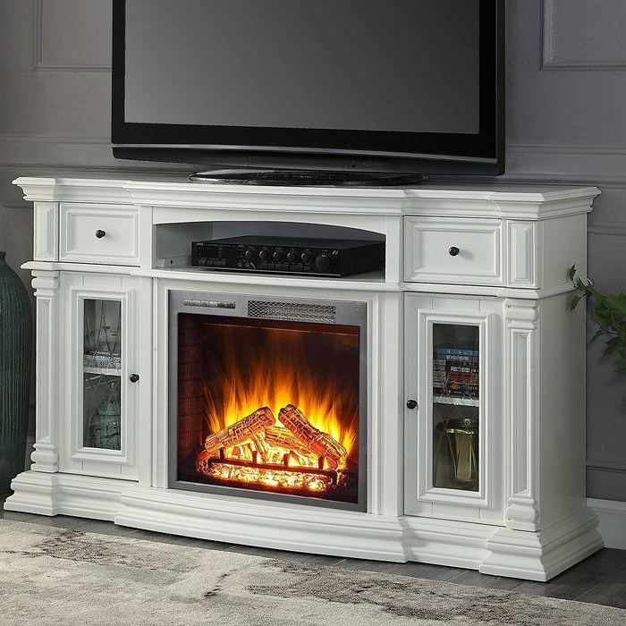 """Raya Tv Stand For Tvs Up To 70"""" With Fireplace Included With Hetton Tv Stands For Tvs Up To 70"""" With Fireplace Included (View 6 of 20)"""