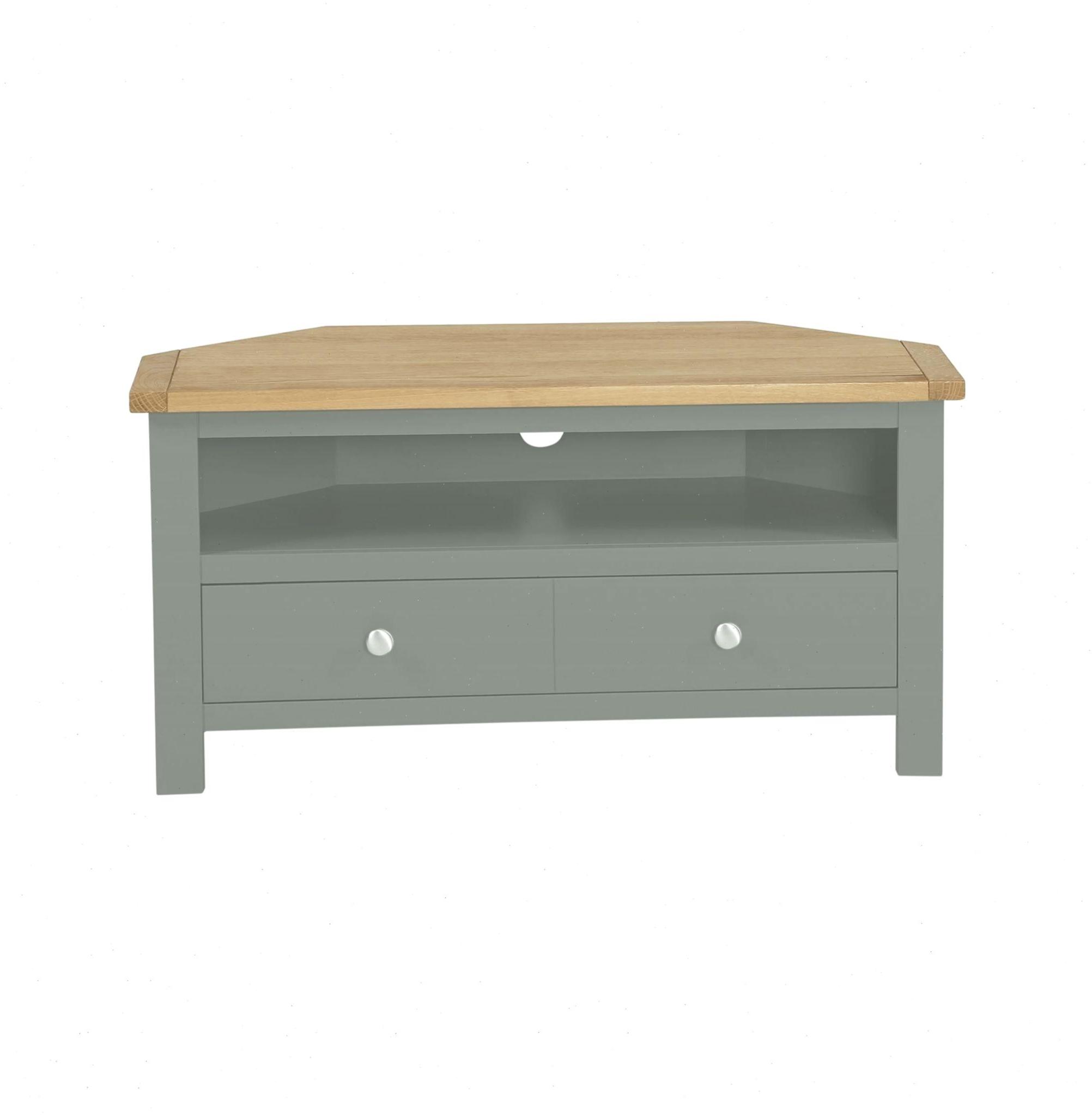 Ready Assembled Grey Living Room Furniture – Dlivingroomku Inside Bromley Grey Corner Tv Stands (View 2 of 20)