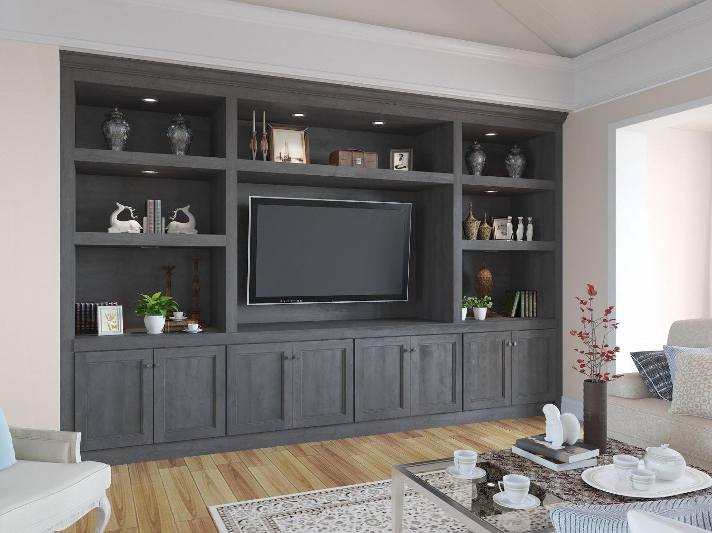 Ready Assembled Grey Living Room Furniture – Dlivingroomku Regarding Bromley Grey Corner Tv Stands (View 7 of 20)