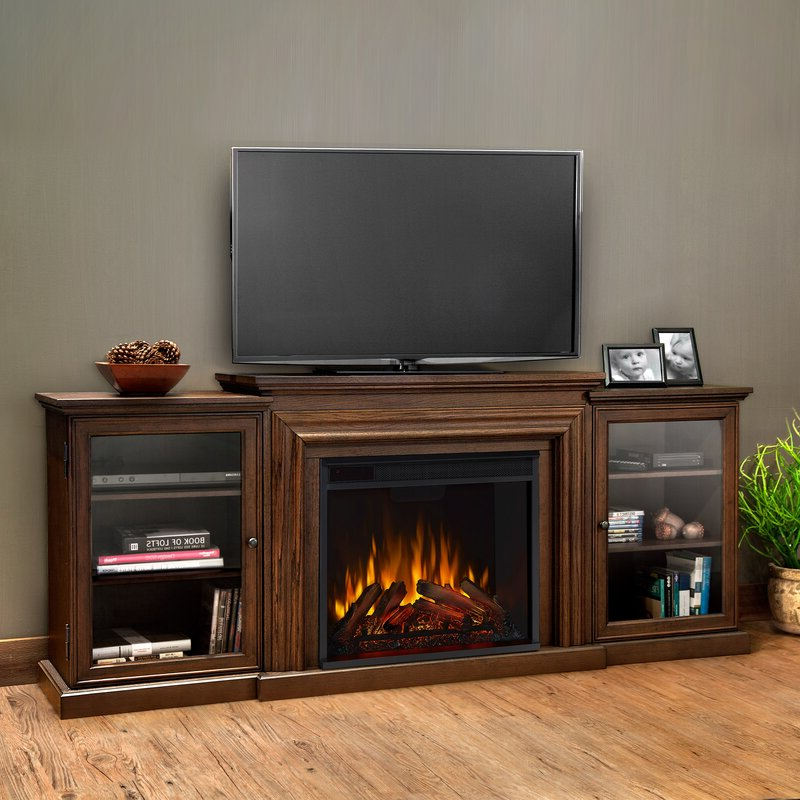 """Real Flame Frederick Tv Stand For Tvs Up To 78"""" With For Grandstaff Tv Stands For Tvs Up To 78"""" (View 2 of 20)"""