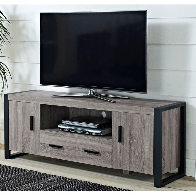 """Reclaimed Wood Tv Stand – 60 Inches In Tv Stands For Casey May Tv Stands For Tvs Up To 70"""" (View 5 of 20)"""