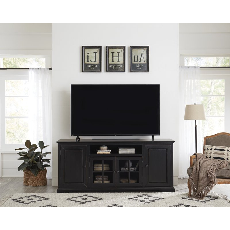 """Red Barrel Studio® Licola Tv Stand For Tvs Up To 85 In Bustillos Tv Stands For Tvs Up To 85"""" (View 1 of 20)"""