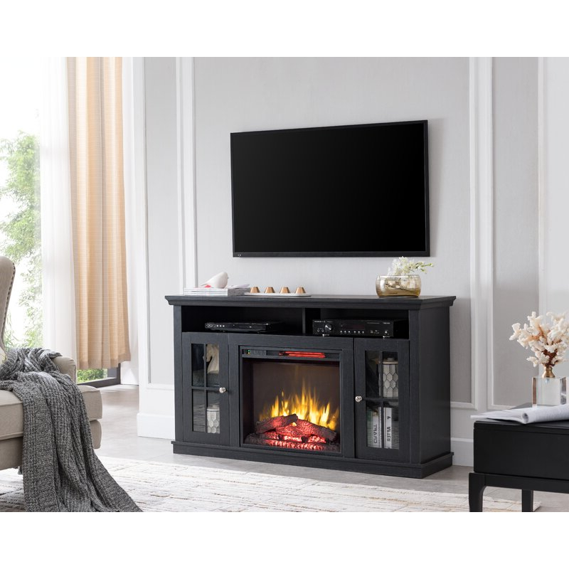 """Red Barrel Studio® Orlane Tv Stand For Tvs Up To 60"""" With Pertaining To Hetton Tv Stands For Tvs Up To 70"""" With Fireplace Included (View 14 of 20)"""