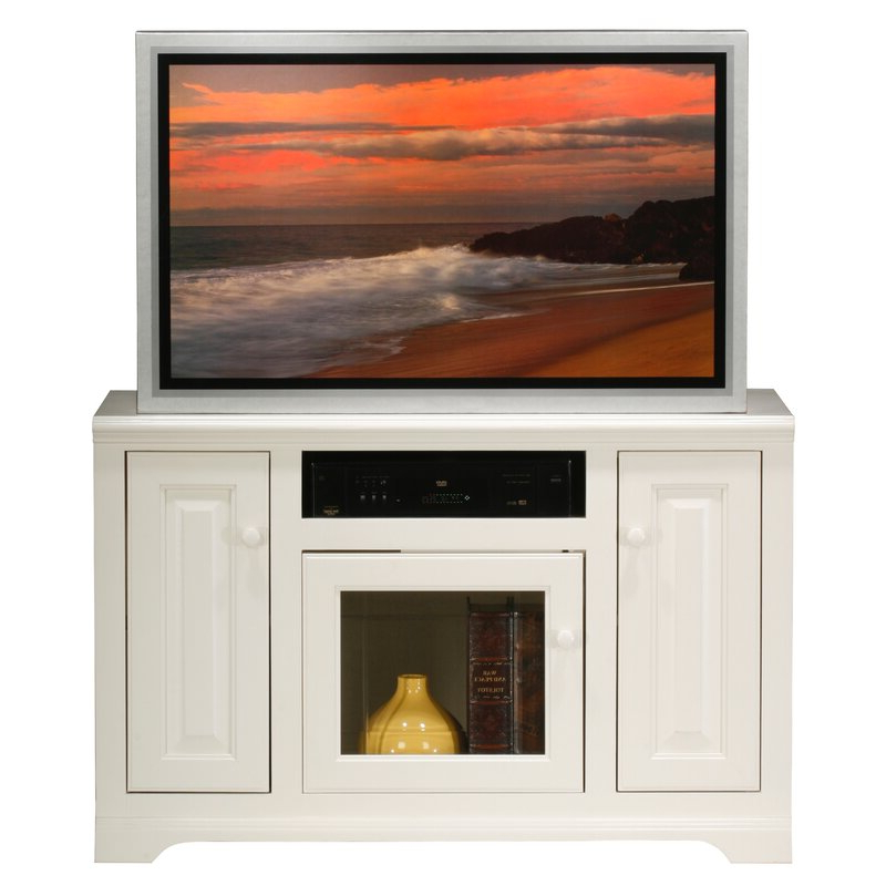 """Red Barrel Studio Wentzel Solid Wood Tv Stand For Tvs Up In Griffing Solid Wood Tv Stands For Tvs Up To 85"""" (View 18 of 20)"""