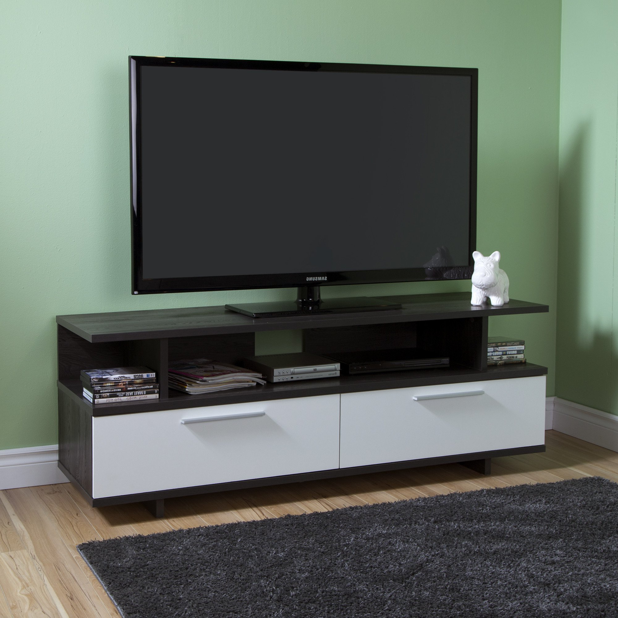 """Reflekt Tv Stand With Drawers, For Tvs Up To 60 Inches Within Adayah Tv Stands For Tvs Up To 60"""" (View 3 of 20)"""