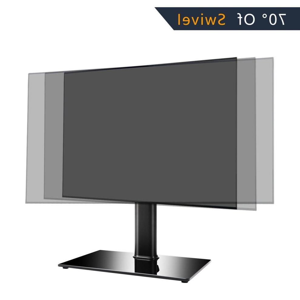 Rfiver Tavr Universal Pedestal Tv Bracket/tabletop Tv Within Rfiver Black Tabletop Tv Stands Glass Base (View 15 of 20)