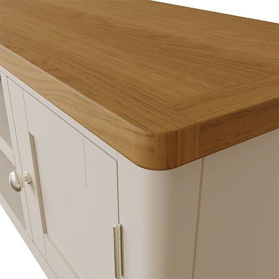 Rosemont Wooden 1 Door 1 Shelf Tv Stand In Dove Grey | Sale Throughout Penelope Dove Grey Tv Stands (View 14 of 20)