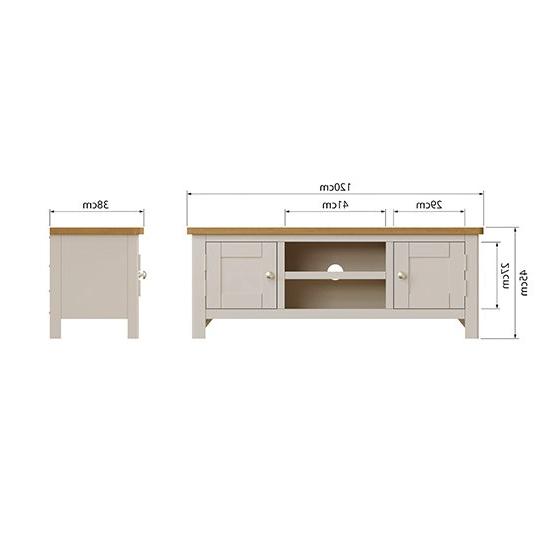 Rosemont Wooden 2 Doors 1 Shelf Tv Stand In Dove Grey | Sale Within Penelope Dove Grey Tv Stands (View 16 of 20)