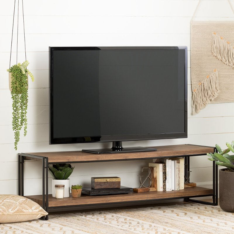 """Rustic 60 Inch Tv Stand > Iammrfoster Regarding Millen Tv Stands For Tvs Up To 60"""" (View 2 of 20)"""