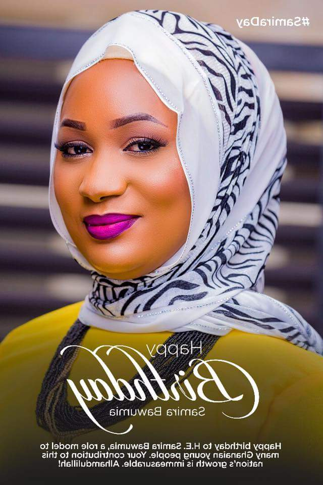 Samira Bawumia Turns 37, Gets Well Wishes From Rebecca With Samira Tv Stands (View 18 of 20)