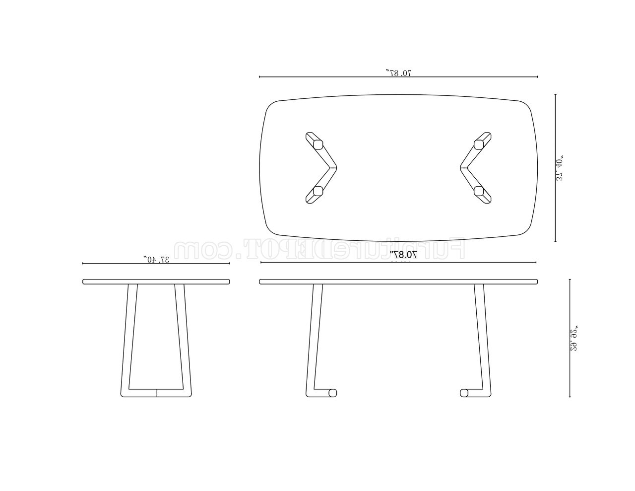 Samira Dining Table Set In Walnutchintaly W/options Intended For Samira Tv Stands (View 4 of 20)