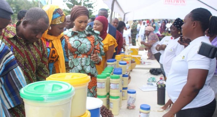 Samira Launches Maiden Shea Expo – Dailyguide Network Throughout Samira Tv Stands (View 6 of 20)