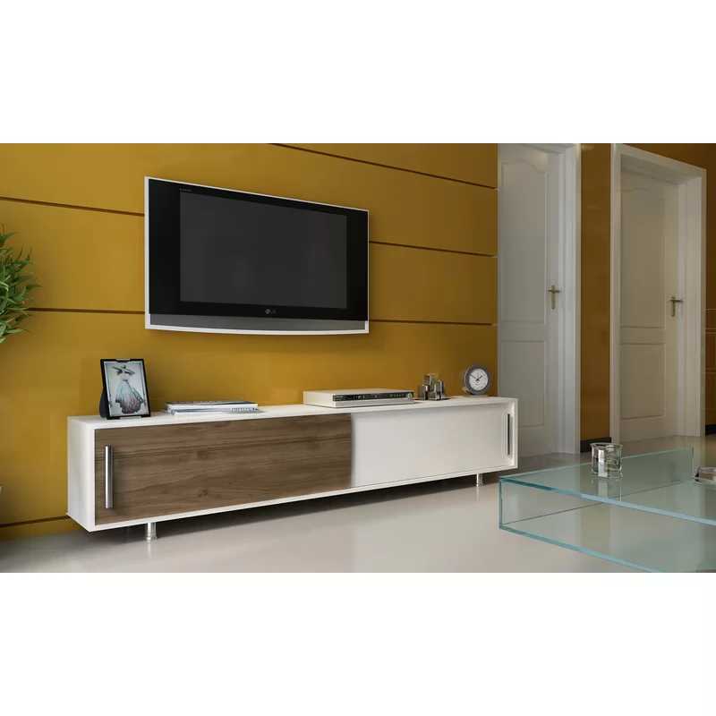 """Sandefur Cabinet Tv Stand For Tvs Up To 78 Inches Regarding Grandstaff Tv Stands For Tvs Up To 78"""" (View 4 of 20)"""