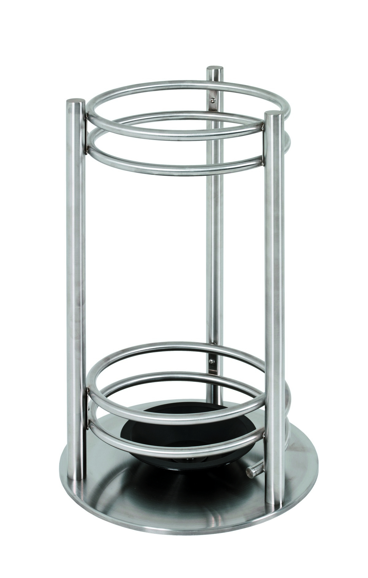 Santiago Stainless Steel Umbrella Stand Throughout Santiago Tv Stands (View 8 of 20)
