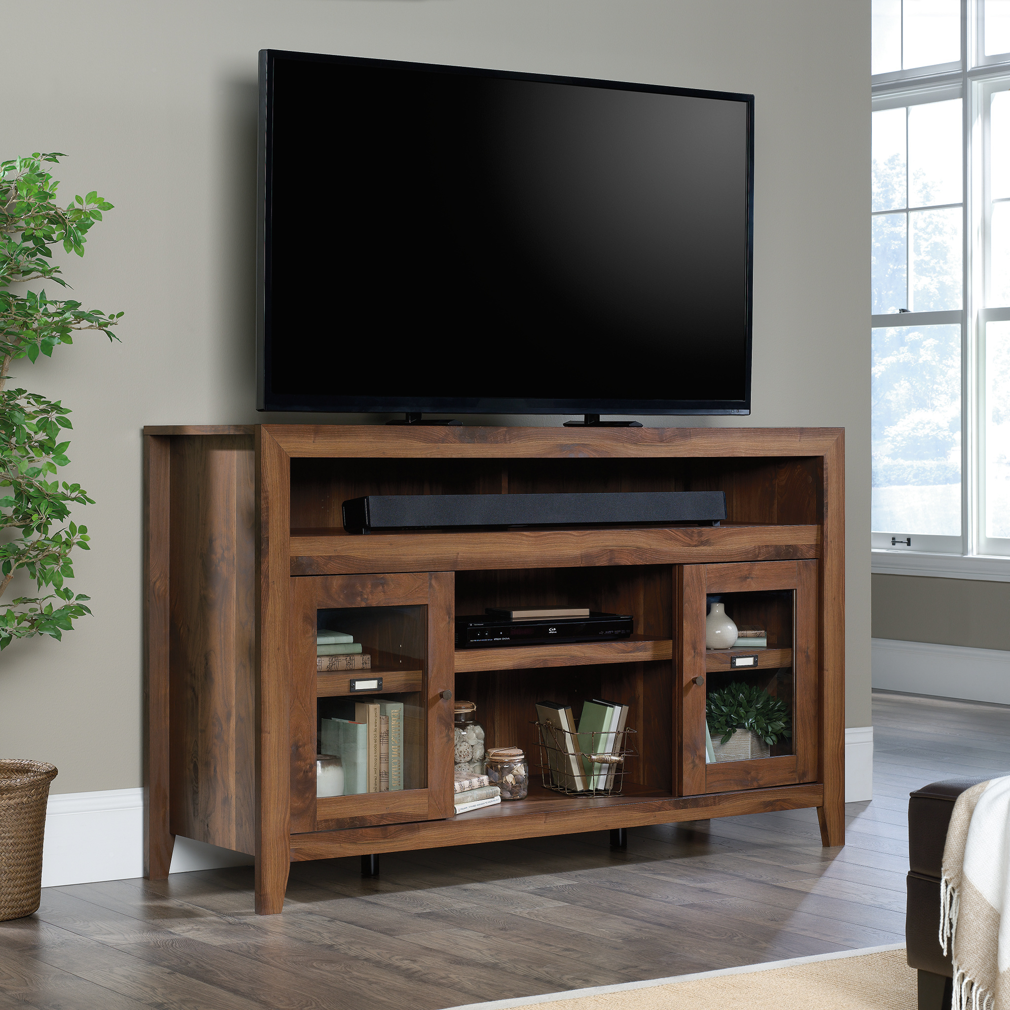 """Sauder Dakota Pass Tv Stand Credenza For Tvs Up To 60 With Regard To Margulies Tv Stands For Tvs Up To 60"""" (View 9 of 20)"""