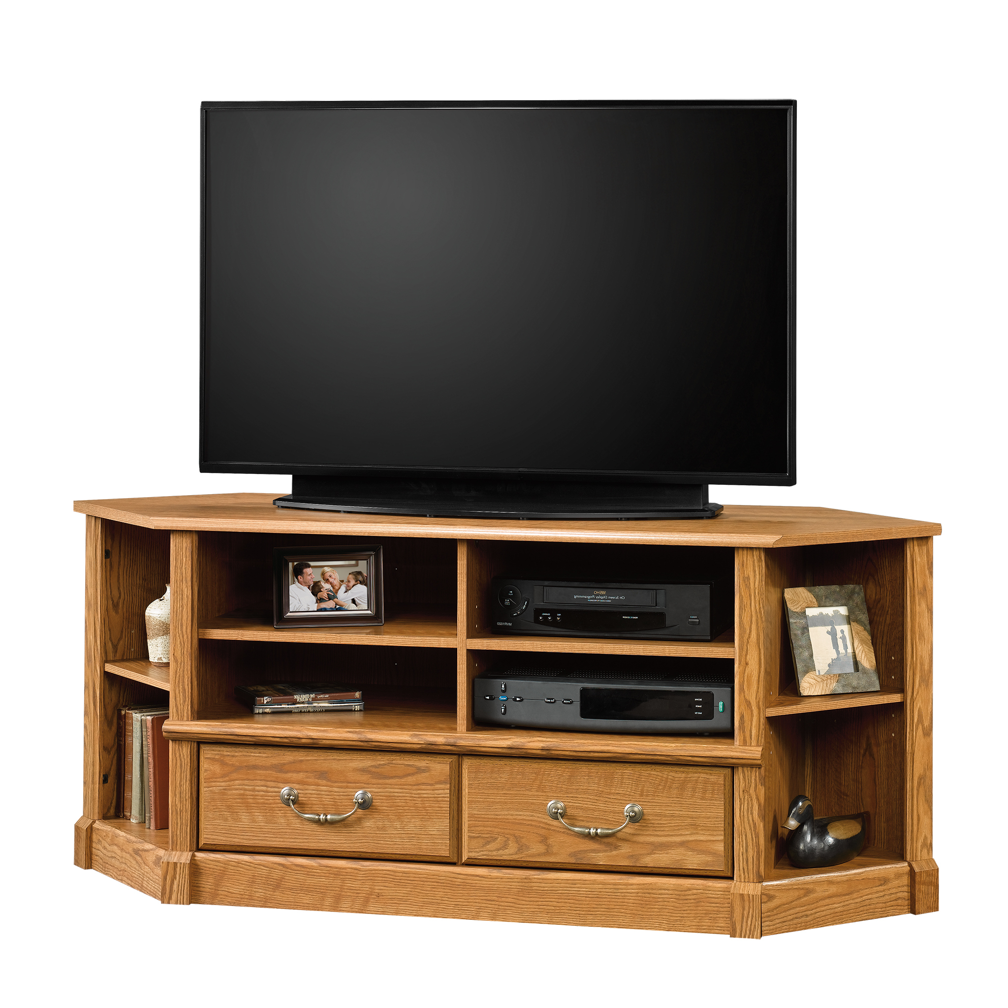 """Sauder Orchard Hills Corner Tv Stand For Tvs Up To 50 With Lansing Tv Stands For Tvs Up To 50"""" (View 9 of 20)"""