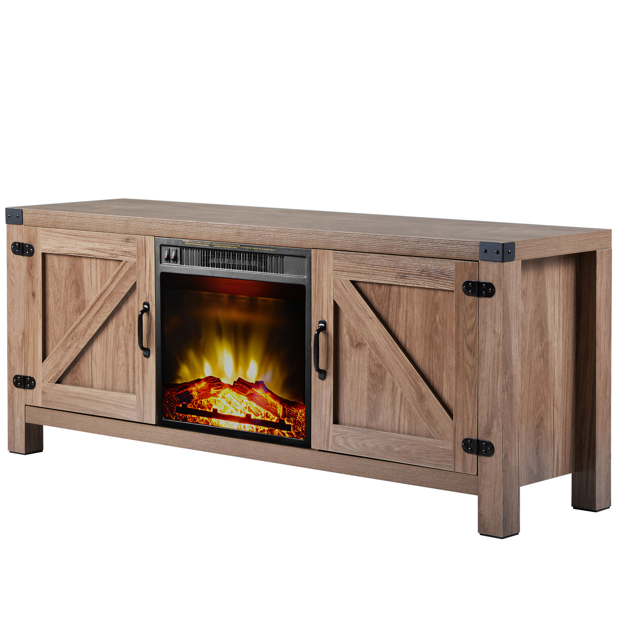 """Segmart Fireplace Tv Stands For Tvs Up To 65"""", Rustic Regarding Totally Tv Stands For Tvs Up To 65"""" (View 16 of 20)"""